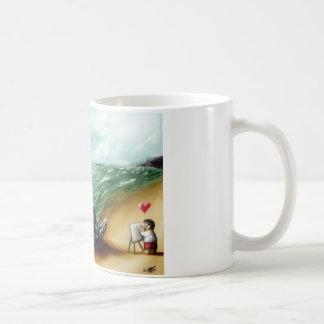 I heart you Sharktopus Coffee Mug