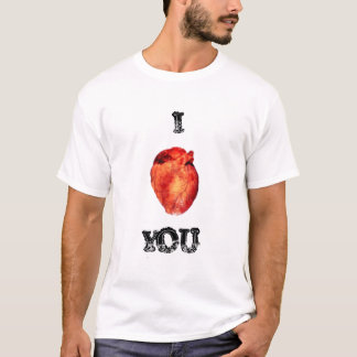 "I ""Heart"" you T shirt"