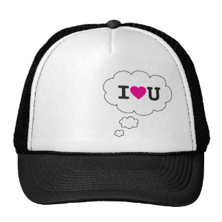 i heart you trucker hat