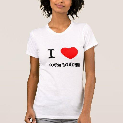 I HEART YOUNG ROACH T-SHIRT