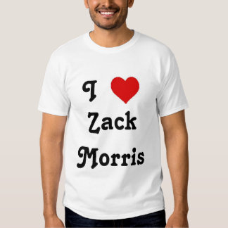 I Heart Zack Morris T Shirt