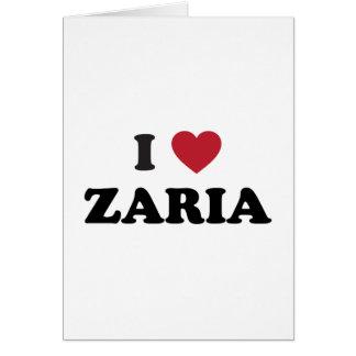 I Heart Zaria Nigeria Card