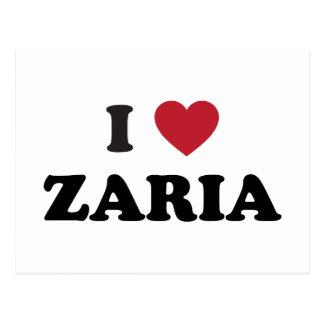 I Heart Zaria Nigeria Postcard