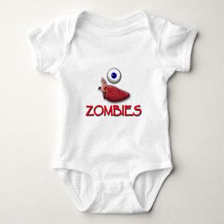 I HEART ZOMBIES BABY BODYSUIT