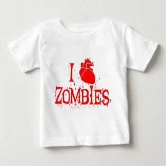 I HEART ZOMBIES BABY T-Shirt