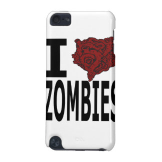 I Heart Zombies iPod Touch 5G Cases