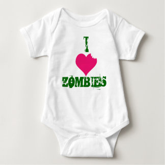 I HEART ZOMBIES-creeper T Shirt