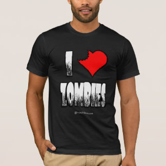 I Heart Zombies Dark T-shirt