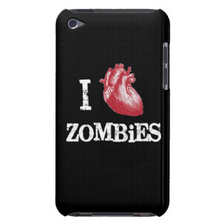I heart Zombies heart zombie funny love bit bitten Barely There iPod Case