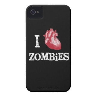 I heart Zombies heart zombie funny love bit bitten Case-Mate iPhone 4 Cases