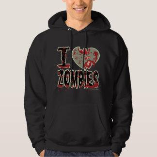 I Heart Zombies Hoody