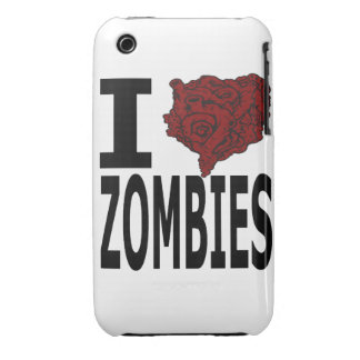 I Heart Zombies iPhone 3 Case-Mate Case