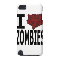 I Heart Zombies Ipod Touch 5g Case at Zazzle