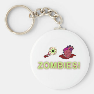 (I) (HEART) ZOMBIES! KEYCHAIN