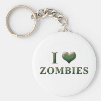 I Heart Zombies Keychain 003