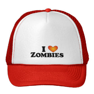 I (heart) Zombies - Lite Multi-Products Hats