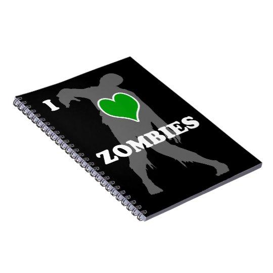 I Heart Zombies Notebook