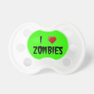 I Heart Zombies Baby Pacifier