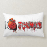 I Heart Zombies Pillow