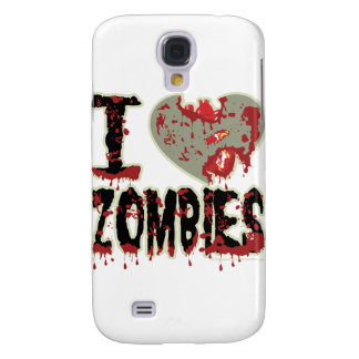 i heart zombies! samsung galaxy s4 cover
