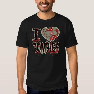 i heart zombies! shirt