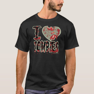 i heart zombies! T-Shirt