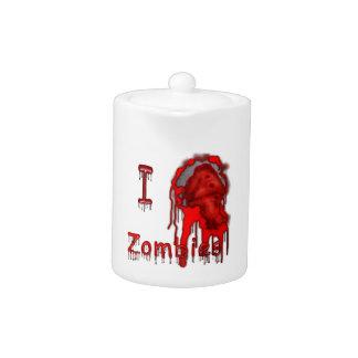"""I """"HEART"""" Zombies Teapot"""
