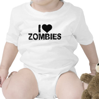 I {HEART} ZOMBIES ROMPERS