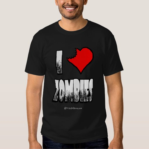 I Heart Zombies Zombie T-shirt