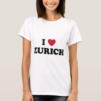 I Heart Zurich Switzerland T-Shirt