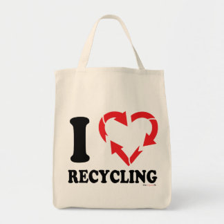 I Hearth Recycling Organic Tote bag