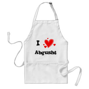 I Hearts Abgusht Persian Soup Beef Adult Apron