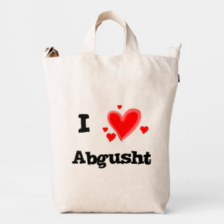 I Hearts Abgusht Persian Soup Beef Duck Canvas Bag