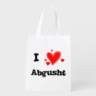 I Hearts Abgusht Persian Soup Beef Reusable Grocery Bag