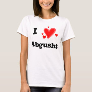 I Hearts Abgusht Persian Soup Beef T-Shirt