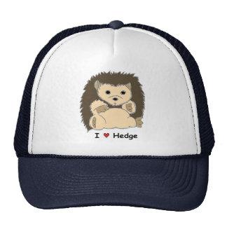 I ❤ Hedge Mesh Hats