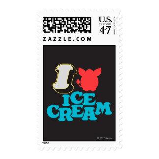 I helado de Furby Timbres Postales