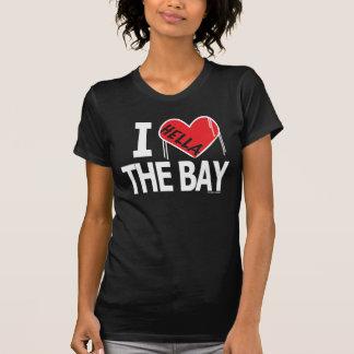 I Hella Love The Bay (Black/Red/White) Shirt