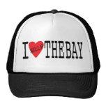 I Hella Love The Bay Snap Back Trucker Hats