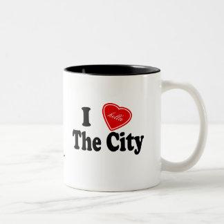 I (Hella) Love The City Two-Tone Coffee Mug