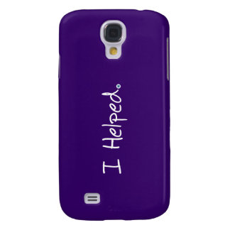 I Helped iPhone 3 Case
