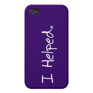 I Helped iPhone 4 Case