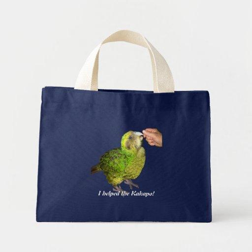 I helped the kakapo! bag