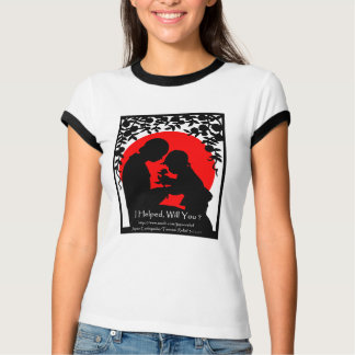 I Helped, Will You ? Japan Relief T-Shirt