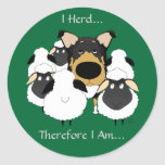 I Herd...Therefore I Am Stickers