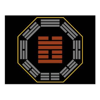 "I Hexagram 17 Sui de Ching ""que sigue "" Tarjetas Postales"