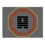 "I Hexagram 18 Ku ""restauración "" de Ching Postal"