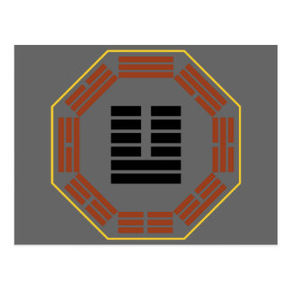 "I Hexagram 19 Lin de Ching ""que acerca "" Postales"