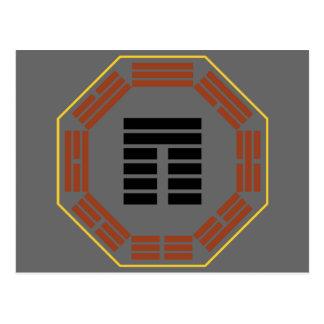 """I Hexagram 20 Kuan """"visión """" de Ching Postales"""