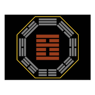 """I Hexagram 21 Shih de Ching Ho """"que muerde por """" Postales"""